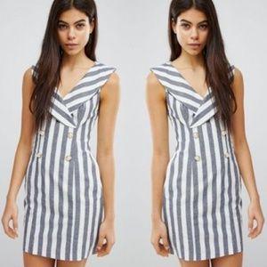 ASOS Tux Blazer Mini Dress